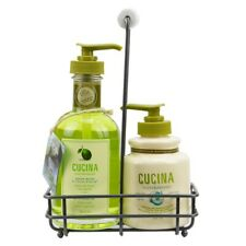 Fruits & Passion Cucina Lime Zest and Cypress Hand Cream and Soap Care Duo Set