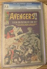 Marvel The Avengers #14, CGC Graded 7.5