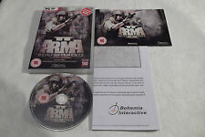 ARMA II 2 REINFORCEMENTS PC DVD-ROM V.G.C. ( FPS shooter game & complete + map )