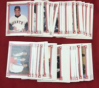 1984 Renata Galasso Willie Mays Story Baseball Complete Set of 90 Cards RGI