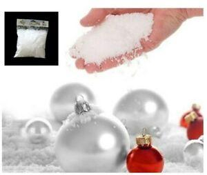 100g Christmas Artificial Snowflakes Xmas Tree Party Decoration Celebration