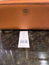 Tory Burch York Zip Passport Continental Wallet Clutch New!