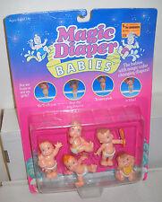 #7461 NRFC Vintage Galoob Magic Diaper Babies Figures