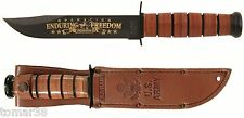 KA-BAR #9168 U.S. ARMY OPERATION ENDURING FREEDOM AFGHANISTAN COMM. KNIFE