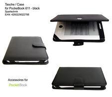 Custodia pelle* PocketBook 611 Pocket book 613 Basic Obreey Basic New ebook nero