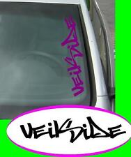 Groß Veilside fast Domo JDM Sticker aufkleber oem Power fun like Shocker