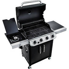 Char-Broil 4-Burner Grill Top Quality Gas BBQ Outdoor Patio BLACK