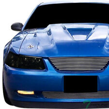 Topline For 1999-2004 Ford Mustang Smoke Clear Housing Headlights Signal Pair Nb