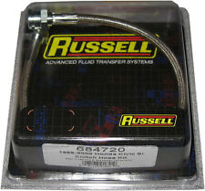 Russell 684720 Stainless Steel Clutch line for 1999-2000 Honda Civic Si