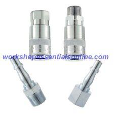 PCL Air Line Couplings Vertex 1/4BSP Adaptors, Hose Fittings, Connectors Genuine