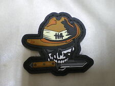 Death Ranger Skull Punisher PVC Patch Military Tactical Combat Morale Navy Seal