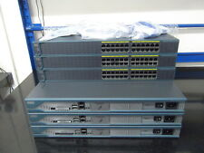 Cisco CCNA CCNP LAB STARTER KIT 3 X 2811 + 3 X WS-C2960-24-S All IOS 15+ Cables