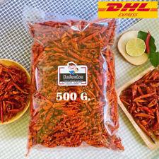 Crispy Chili Spicy Pepper Chili TomYam Thai Flavor Snack Sesame Vegan 500g.