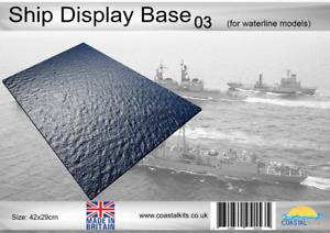 Coastal Kits Ship Display Base 03 (for waterline models)