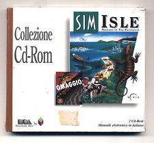 Gioco Pc Cd SIM ISLE Missions in the rainforest - 2 cd NUOVO + Magic Carpet ITA