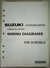 Wiring Diagrams Suzuki Outboard Motor For 2005 Models