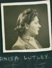 1942 RAF Turnhouse 'Anita Lutley' WAAF  QS.1200