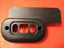 OEM 99-04 FORD MUSTANG DRIVERS LEFT SIDE POWER SEAT SWITCH BEZEL BLACK EXCELLENT