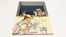 La lettre de feu EO / Jamar / Charlier // Le Lombard