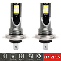 2PCS H7 200W voiture LED phare antibrouillard Kit CREE 6000K HID Canbus sans DE