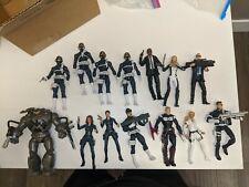 Marvel Legends  Nick Fury & Shield agent lot  W/ custom Dum Dum Dugan& Hill