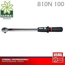 Chiave Dinamometrica cricchetto USAG 810N 100 20 - 100 Nm ATTACCO 1/2 Auto Moto