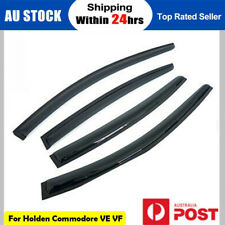 Weathershields Weather shields fit Holden Commodore VE VF Sedan Window Visors