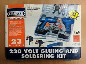 Draper 76842 23pc 230v Gluing & Soldering Kit