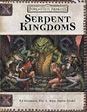 Dungeon and Dragons Roleplaying Game Ser. Rules Supplements: Serpent Kingdoms :…