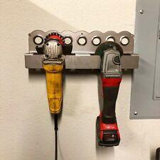 "Grinder Storage Rack - Fits up to 4.5"" Grinder, Milwaukee, Makita, DeWalt, Ryobi"