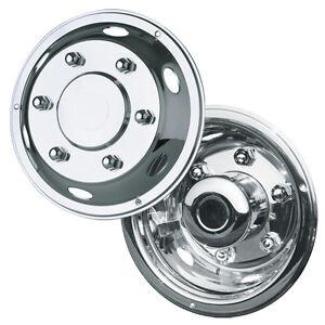 "1 x 4 17.5"" Iveco Eurocargo extra deep deluxe wheel liners trims hub caps"