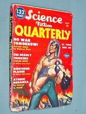 """Science Fiction Quarterly"" Vol 1 #1, May 1951"