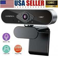 DEPSTECH 1080P HD USB Webcam for PC Desktop Laptop Web Camera with Microphone