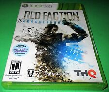 Red Faction: Armageddon Microsoft Xbox 360 *Factory Sealed! *Free Shipping!