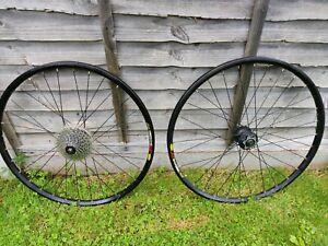 "Mavic 26"" X317 Disc Wheelset - Shimano M475 Hubs- Mountain Bike Wheels"