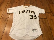 Max Moroff Pittsburgh Pirates 2018 GAME USED WORN JERSEY MLB AUTHENTICATION