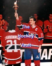 A Classic! Pierre TURGEON CLOSES The FORUM in MONTREAL 8X10 Considered SACRED!!!