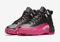 Nike Air Jordan 12 Pink Black XII Retro Deadly Pink 510815-026 DS