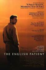 English Patient - original DS movie poster D/S 27x40 1996 Review style