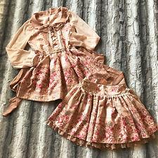 Liz Lisa Hime Princess Gyaru Floral Tunic Skirt Dress Set Up