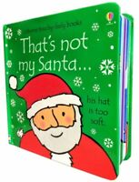 Usborne Touchy-Feely Books, Thats Not My Santa Fiona Watt, Rachel Wells