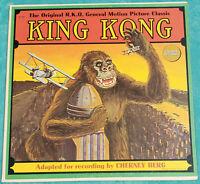 Super Rare King Kong Original 1933 RKO Classic LP - 1964 Original Vinyl Album