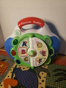 LEAP FROG 2002-PHONICS RADIO,TALKING LEARNING TOY A-Z ,MUSIC RHYMES,LIGHTS+++++