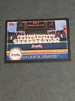 Atlanta Braves Team Card 2003 Topps Black #632 12/52