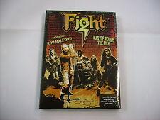 FIGHT - WAR OF WORDS THE FILM - DVD+CD SIGILLATO 2007 - ROB HALFORD - COPY #0021