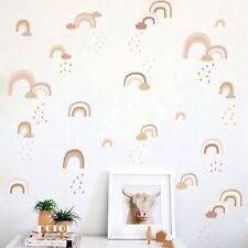 Rainbow Wall Decals Stickers Nursery Kids Bedroom
