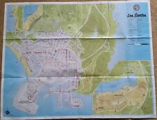 GRAND THEFT AUTO GTA V 5 - Xbox 360 MAP LOS SANTOS GTA 5