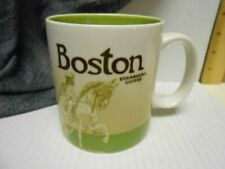 Starbucks Boston Icon 16 Oz Mug RARE Discontinued