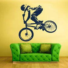 Wall Decal Vinyl Sticker Decals Bike Cycle BMX Bicycle Jump (Z1325)