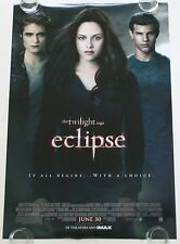 TWILIGHT ECLIPSE DS MOVIE POSTER ONE SHEET NEW AUTHENTIC